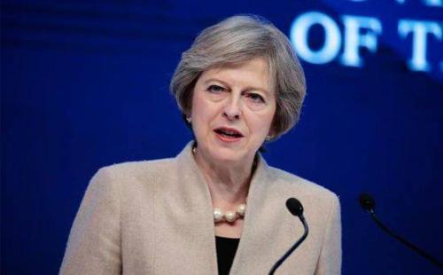 特蕾莎五月向保守党发出请求 要求英国退欧联合起来