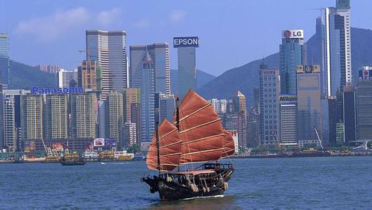 在中美贸易争端中 香港经济陷入停滞