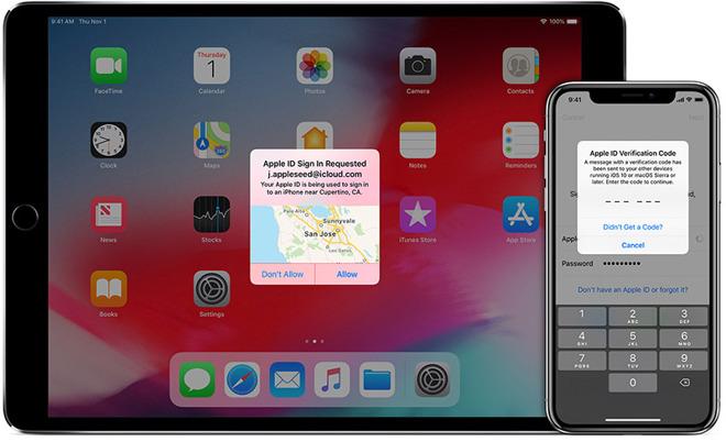 Apple需要对开发者帐户进行双因素身份验证