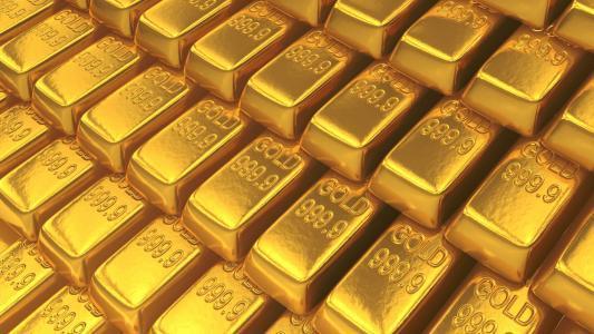 由于中国市场担忧 美国就业数据疲弱 黄金上涨1%