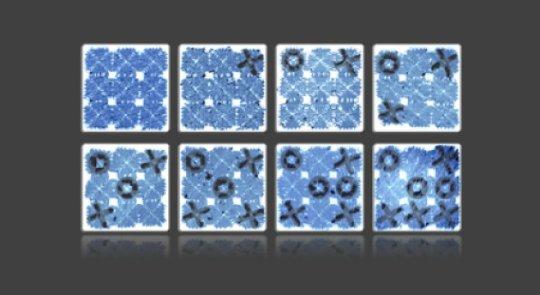世界上最小的用DNA制作的井字游戏板