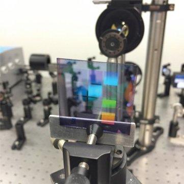 新型低能量纳米激光器