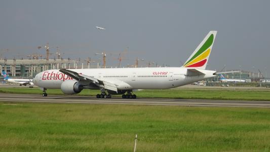 起飞不定的埃塞俄比亚航空公司航班起飞时遇到严重问题