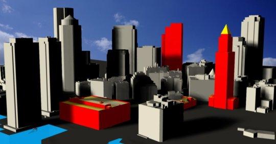 一种快速估算城市环境中太阳能潜力的新方法