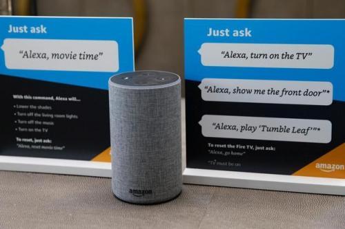 亚马逊的Alexa现在处理患者健康信息