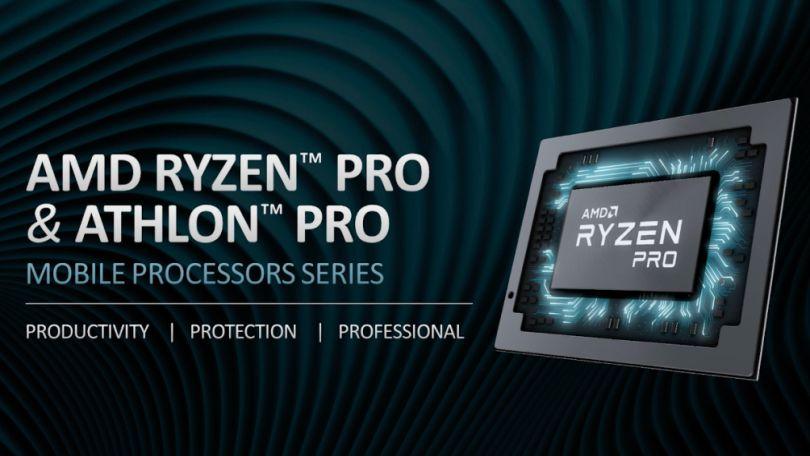 AMD推出全新Ryzen、Athlon Pro芯片 为商用笔记本电脑提供动力