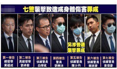 占中案九犯昨日在西九龙裁判法院判刑