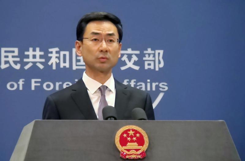 驳英美称港自由被压制外交部坚决反对外力干预
