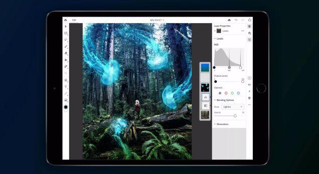 Adobe在今年发布之前打开了Photoshop for iPad beta注册