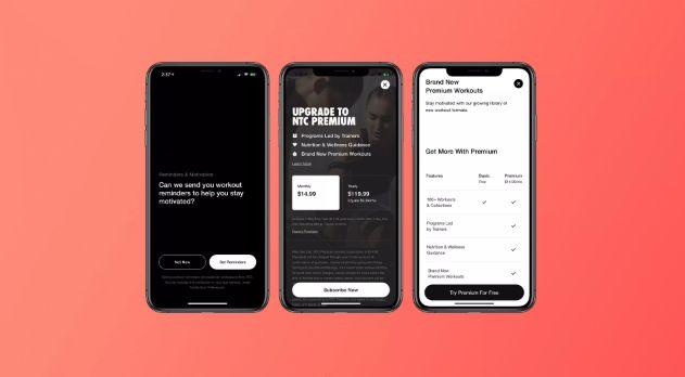 iOS上的Nike Training Club增加了新的订阅功能和锻炼提醒功能