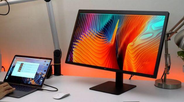 上个月4K型号消失后 LG UltraFine 5K不再可用于Apple