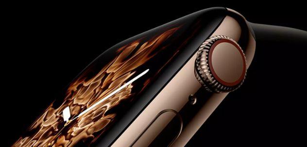 Apple Watch Series 4重新设计的OLED屏幕荣登年度最佳展示