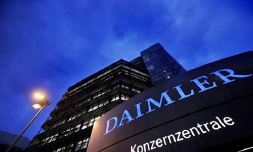 梅赛德斯制造商戴姆勒的股票随着中国股权增持的传言而下跌