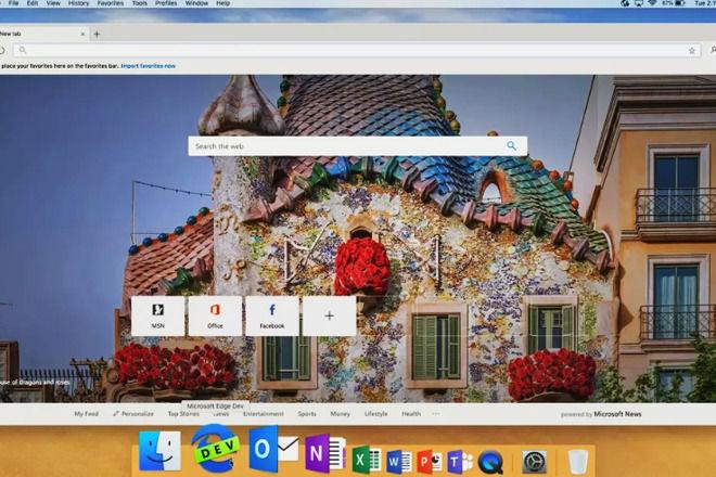 微软为macOS挑选基于Chromium的Edge浏览器
