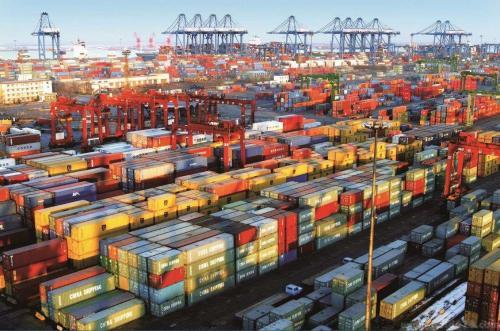 中国出口再现负增长进口增速录半年新高