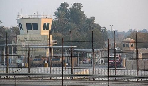 美驻伊拉克使馆遭火箭弹袭扰未造成人员伤亡