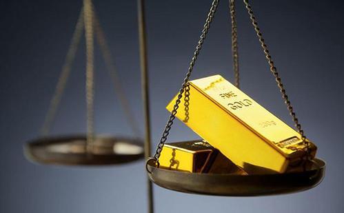 在美联储会议纪要公布之前黄金在强势美元附近触及两周低位