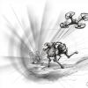 DARPA挑战 地下战争机器人