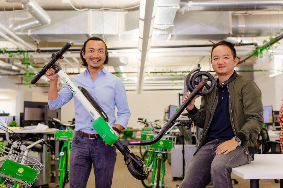 随着联合创始人改变角色踏板车初创公司Lime推翻首席执行官