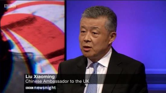 驻英大使接受BBC专访 中央从未指示香港修例