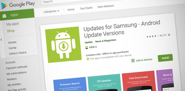 假三星固件更新应用程序欺骗超过1000万Android用户