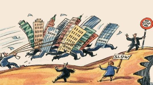 自金融危机以来美国公司发布了大部分裁员