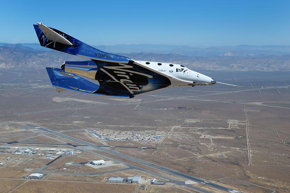 理查德布兰森的维珍银河将成为人类太空飞行的第一家上市公司