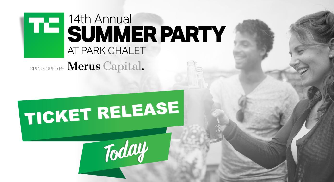 最后一张门票发布到第14届TechCrunch夏季派对