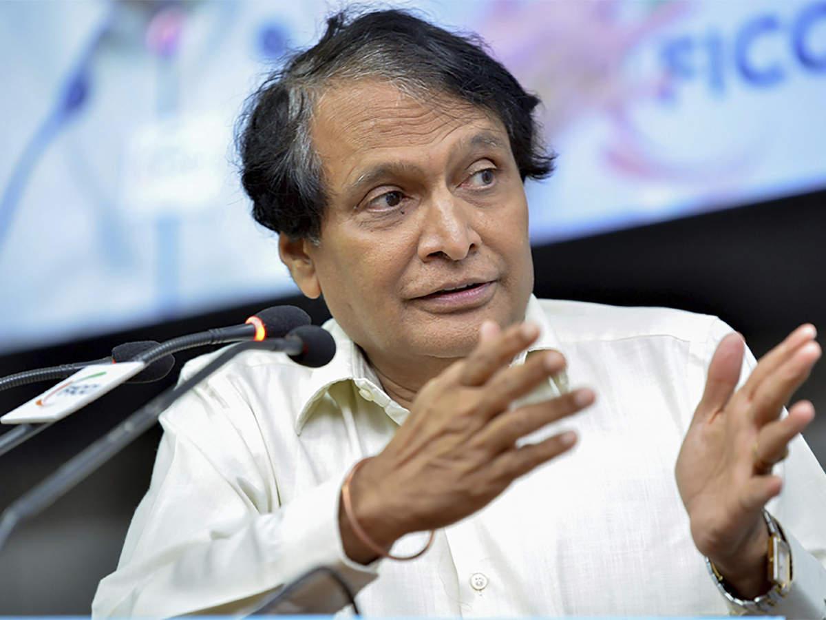 Suresh Prabhu表示印度业务排名的改善程度有所提高