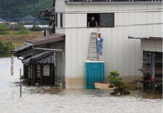 日本的收费降雨达到3级 一些撤离令被解除