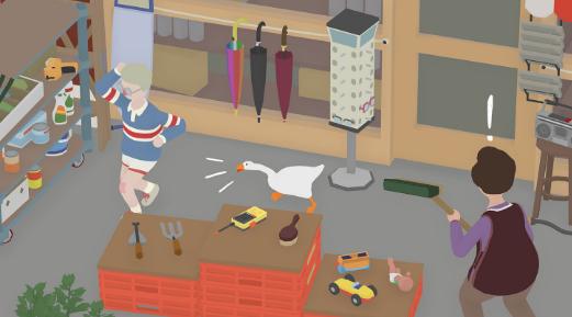9月20日 无题鹅游戏将引发鸟类混乱 这是一个隐形游戏