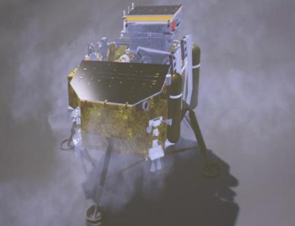 中国的Yutu 2月球车发现隐藏在月球上的 凝胶状 物质