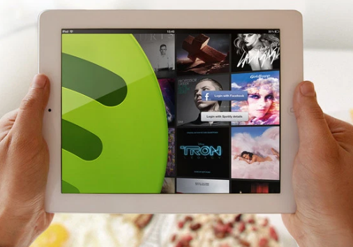 经过漫长的等待 Spotify终于推出了iPad应用程序