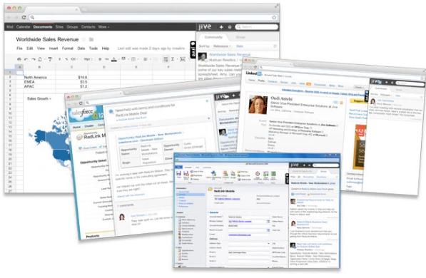 企业社交网络公司Jive Software首次对其产品进行了大幅升级