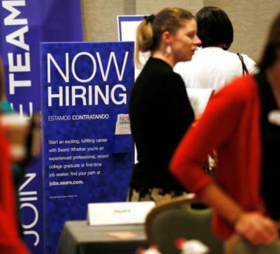 美国就业岗位连续第二个月下滑