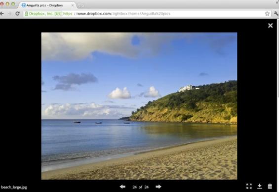 重新设计了Dropbox 添加了操作栏 照片查看器等