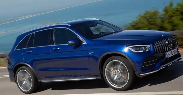 2020 Mercedes-AMG GLC43返回它将以传统SUV和双门轿跑车两种形式提供