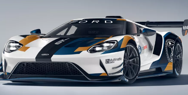 福特GT街车在设计上都与Blue Oval在全球赛场上与之竞争的GT 赛车极为接近