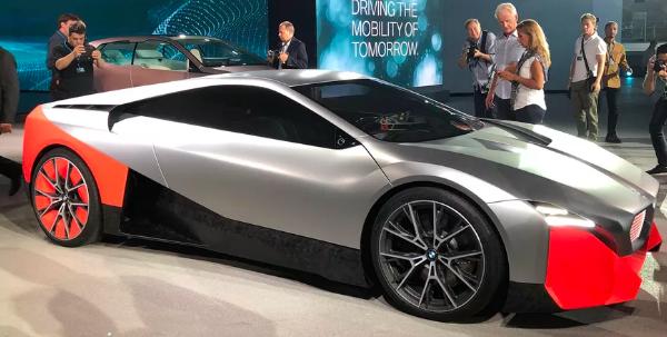 BMW Vision M Next概念使我们想起了未来的娱乐空间