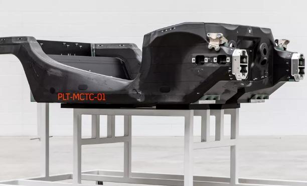 迈凯轮内部碳纤维 Monocell即将进行碰撞测试