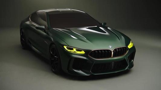 全新的宝马M8旗舰产品 617马力双涡轮增压V8四轮驱动