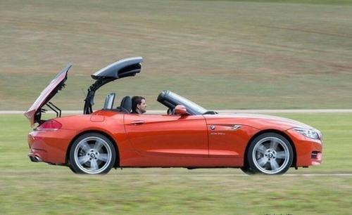 即使在冬季BMW Z5的自上而下看起来也很棒
