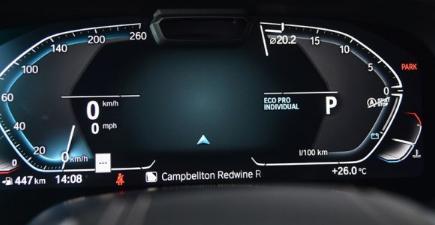 评测2019款宝马X5液晶仪表盘图片解析及2019款宝马X5内饰怎么样