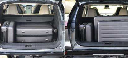 评测小鹏G3后备箱尺寸是多少及小鹏G3车内储物空间展示