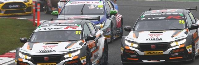 本田在英国房车锦标赛揭幕战中领先制造商排名