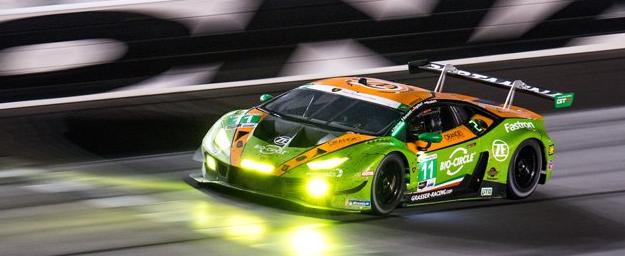 兰博基尼在Daytona 24 Hours创造历史