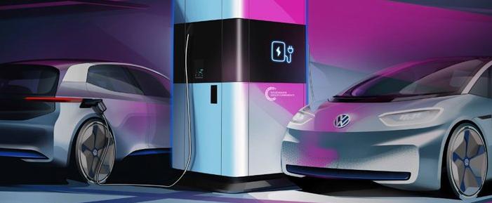 大众汽车开始生产柔性快速充电站
