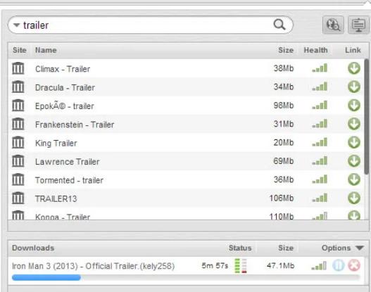使用Firefox或Chrome浏览器下载种子