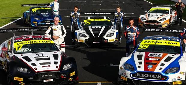 阿斯顿·马丁赢得英国GT冠军
