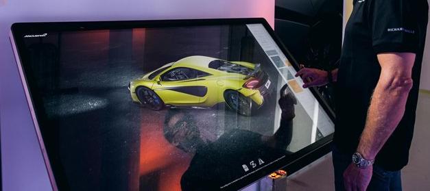 使用开创性的实时数字配置器创建完美的McLaren 600LT